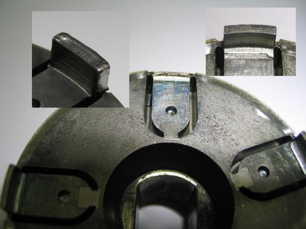ADS Laser - Reconstruction d'une forme cassée