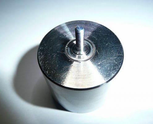 ADS Laser - Soudage étanche d'un axe en titane sur réservoir