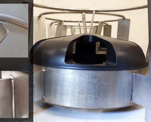 ADS Laser - Assemblage d'une hélice pour l'agro-alimentaire