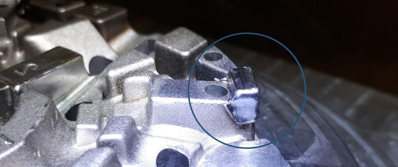 ADS Laser - Galerie de photos de rechargement laser - Recharge d'une forme cassée sur empreinte