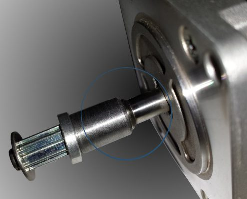 ADS Laser - Soudage d'un pignon sur axe moteur
