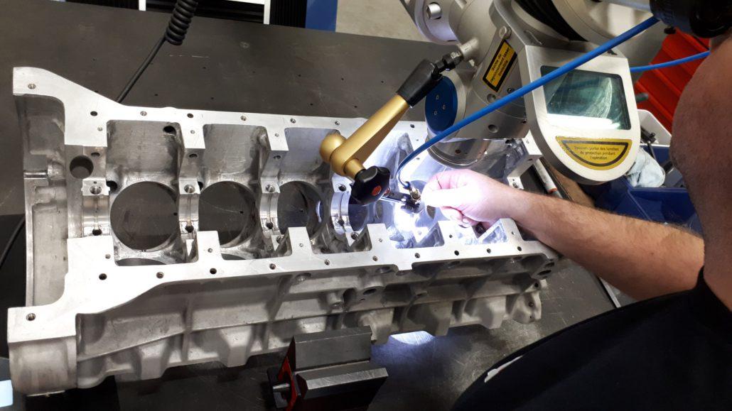 ADS Laser - Paliers de bloc moteur V12