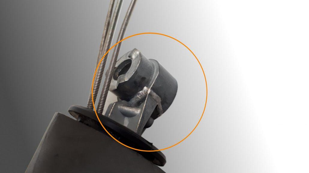 ADS Laser - Soudage articulation rétroviseur en zamak