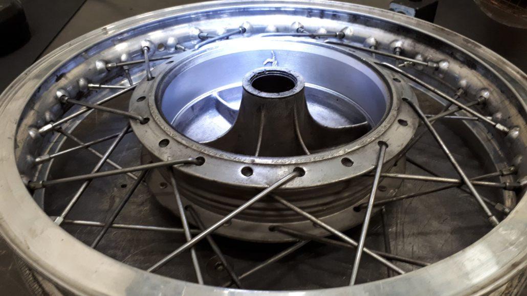 ADS Laser - Soudage d'une fissure sur tambour en fonte